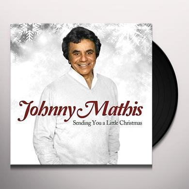 Johnny Mathis SENDING YOU A LITTLE CHRISTMAS Vinyl Record - Gatefold Sleeve, Limited Edition, 180 Gram Pressing