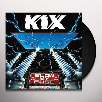 Kix BLOW MY FUSE Vinyl Record - Limited Edition, 180 Gram Pressing, Anniversary Edition