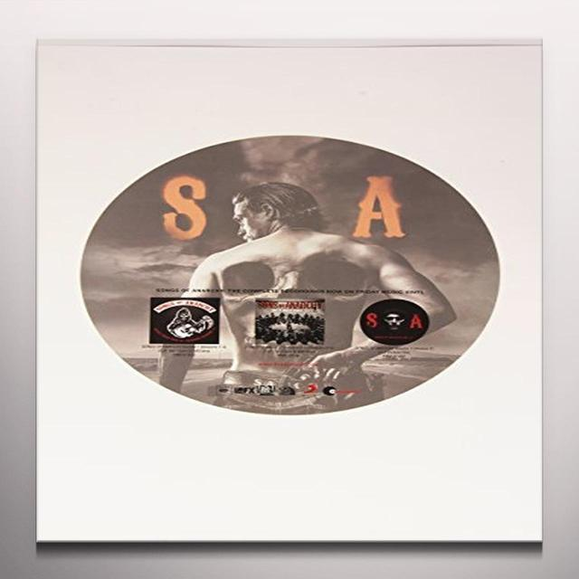 SONS OF ANARCHY (CVNL) (GATE) (PICT) SONGS OF ANARCHY VOLUME 4: SEASON 7 Vinyl Record - Clear Vinyl, Gatefold Sleeve