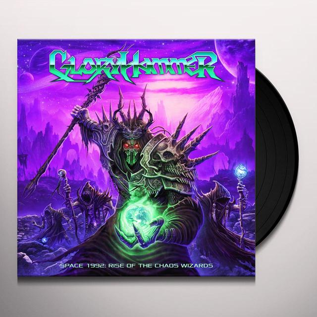 Gloryhammer SPACE 1992: RISE OF THE CHAOS WIZARDS Vinyl Record - 180 Gram Pressing
