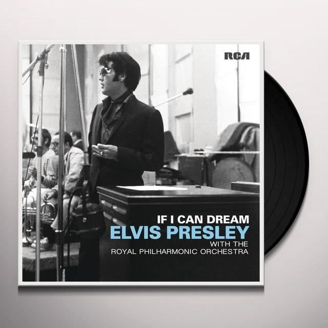 IF I CAN DREAM: ELVIS PRESLEY WITH ROYAL PHILHARMO Vinyl Record