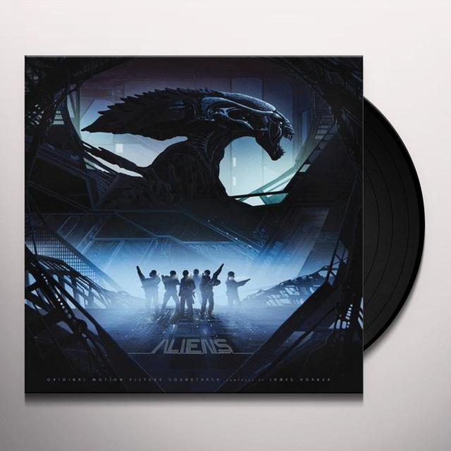 James Horner ALIENS (SCORE) / O.S.T. (BONUS TRACKS) Vinyl Record - 180 Gram Pressing