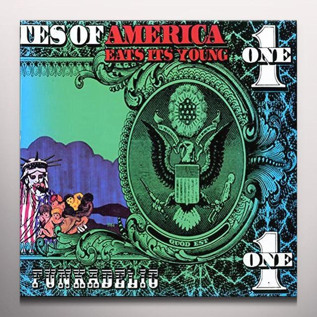 Funkadelic AMERICA EATS ITS ITS YOUNG Vinyl Record - Colored Vinyl, Limited Edition