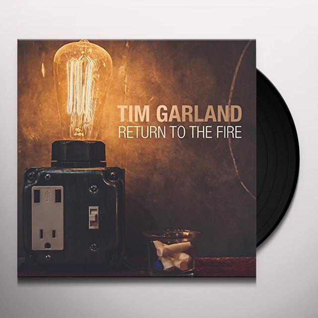 Tim Garland RETURN TO THE FIRE Vinyl Record