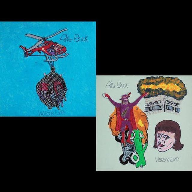 Peter Buck WARZONE EARTH Vinyl Record