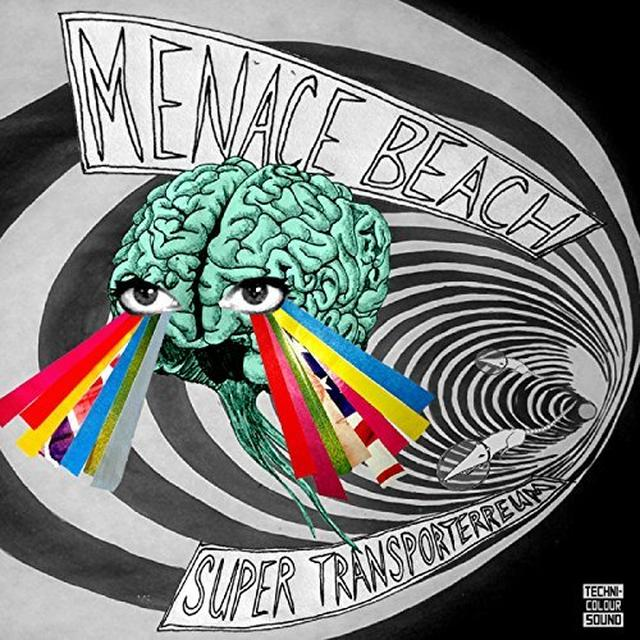 Menace Beach SUPER TRANSPORTERREUM EP Vinyl Record - UK Release