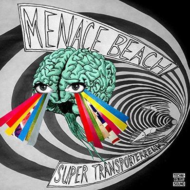Menace Beach SUPER TRANSPORTERREUM EP Vinyl Record - UK Release