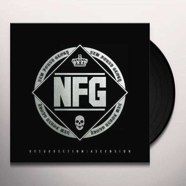 New Found Glory RESURRECTION: ASCENSION Vinyl Record - UK Import