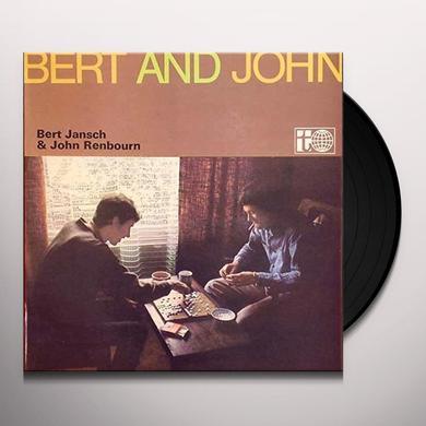 Bert Jansch & John Renbourn BERT & JOHN Vinyl Record