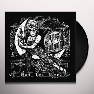 Jim Jones and the Righteous Mind BOIL YER BLOOD Vinyl Record - 10 Inch Single, UK Import