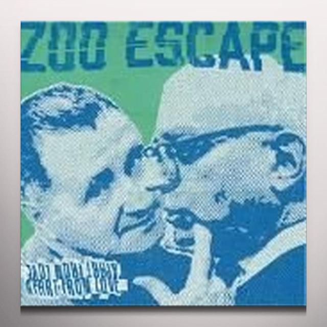 ZOO ESCAPE APART FROM LOVE (BLUE VINYL) Vinyl Record - Colored Vinyl, UK Import