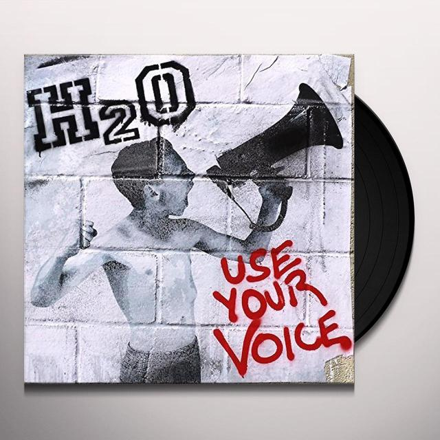 H2O USE YOUR VOICE Vinyl Record - UK Release