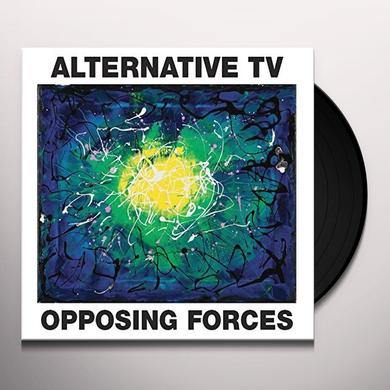 Alternative TV OPPOSING FORCES Vinyl Record - UK Import