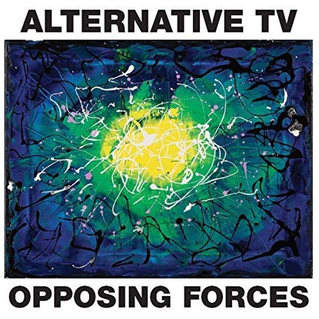 Alternative TV OPPOSING FORCES Vinyl Record