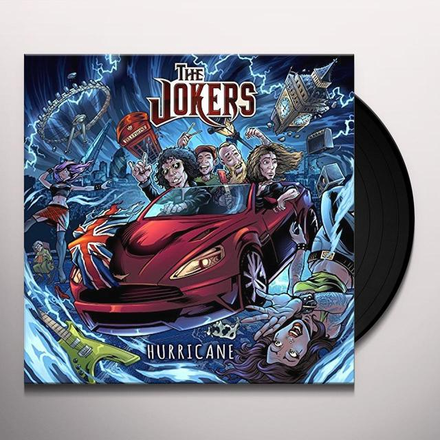 Jokers HURRICANE (LP+CD) Vinyl Record - w/CD, UK Release