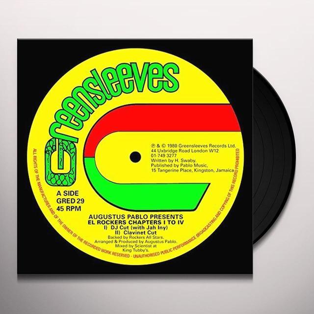 Augustus Pablo EL ROCKERS Vinyl Record - UK Import