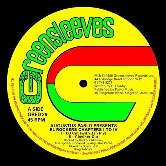 Augustus Pablo EL ROCKERS Vinyl Record