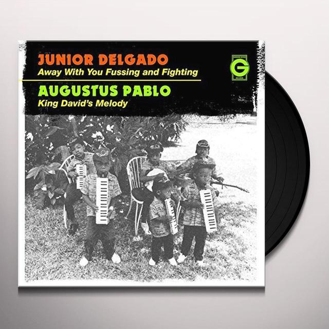 Junior Delgado AWAY WITH YOU FUSSING & FIGHTING Vinyl Record - UK Import