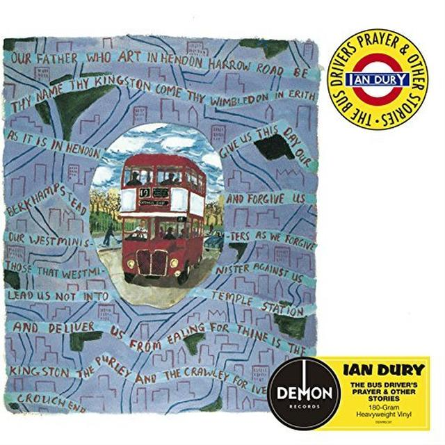 Ian Dury BUS DRIVER'S PRAYER Vinyl Record