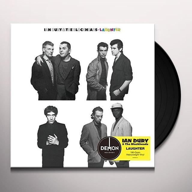 Ian Dury & The Blockheads LAUGHTER Vinyl Record - UK Import