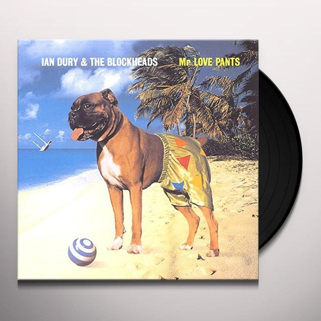 Ian Dury MR LOVE PANTS Vinyl Record