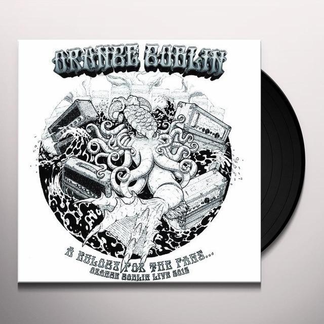 Orange Goblin EULOGY FOR THE DAMNED/FANS (DLP+CD+DVD) Vinyl Record - w/CD