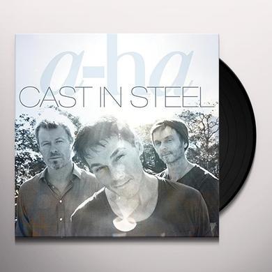 a-Ha CAST IN STEEL Vinyl Record - UK Import