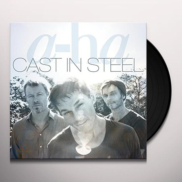 a-Ha CAST IN STEEL Vinyl Record - UK Import