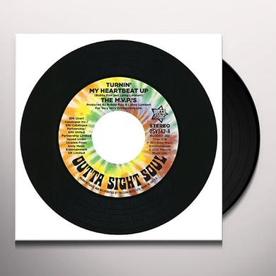 M.V.P'S TURNIN MY HEARTBEAT UP Vinyl Record - UK Import