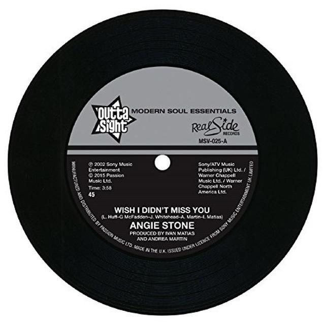 Angie Stone WISH I DIDN'T MISS YOU Vinyl Record