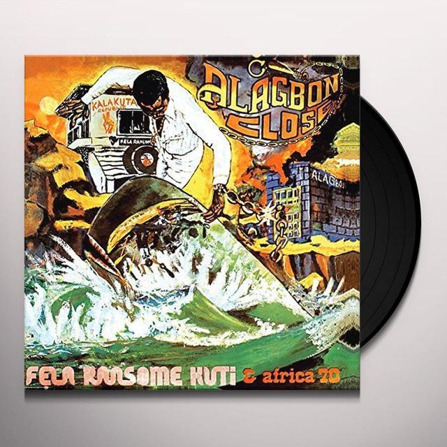 Fela Kuti ALAGBON CLOSE Vinyl Record - UK Import