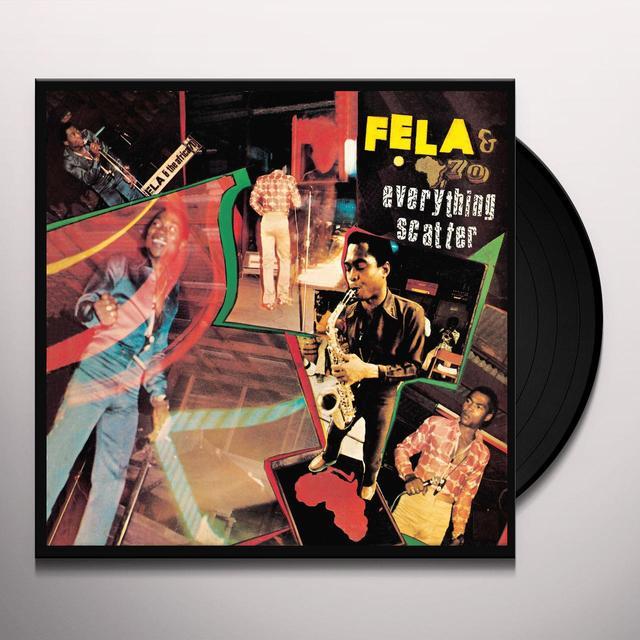 Fela Kuti EVERYTHING SCATTER Vinyl Record - UK Release
