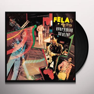 Fela Kuti EVERYTHING SCATTER Vinyl Record - UK Import