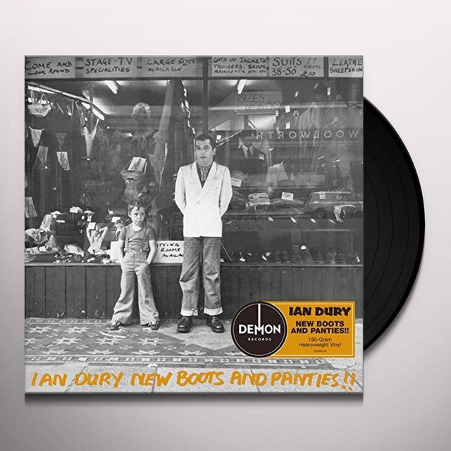 Ian Dury NEW BOOTS & PANTIES Vinyl Record - UK Import