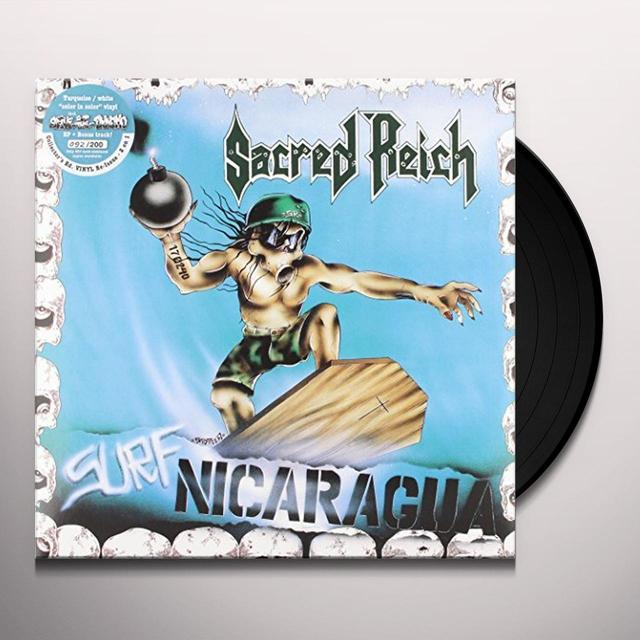 Sacred Reich SURF NICARAGUA / ALIVE AT THE DYNAMO Vinyl Record - UK Import