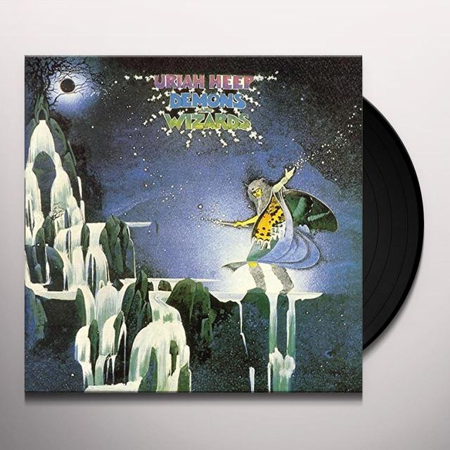 Uriah Heep DEMONS & WIZARDS Vinyl Record - UK Import