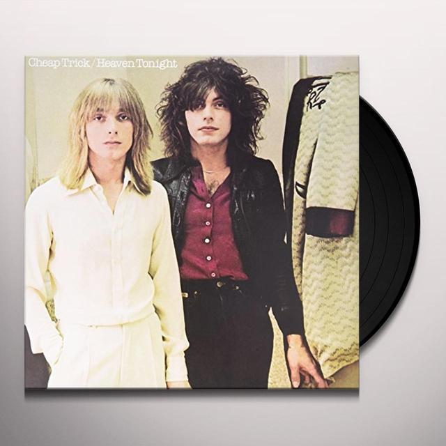 Cheap Trick HEAVEN TONIGHT Vinyl Record - 180 Gram Pressing