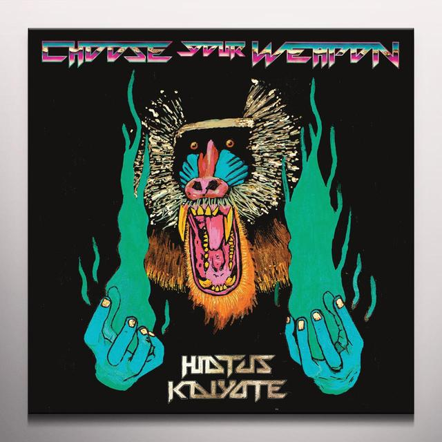 Hiatus Kaiyote CHOOSE YOUR WEAPON   (DLI) Vinyl Record - Blue Vinyl, Colored Vinyl