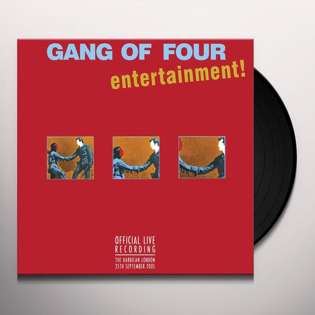 Gang Of Four OFFICIAL LIVE RECORDING-LONDON BARBICAN 2005 Vinyl Record