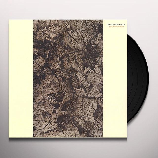 EYES OF GAZA RUST RED SEPTEMBER Vinyl Record - Gatefold Sleeve
