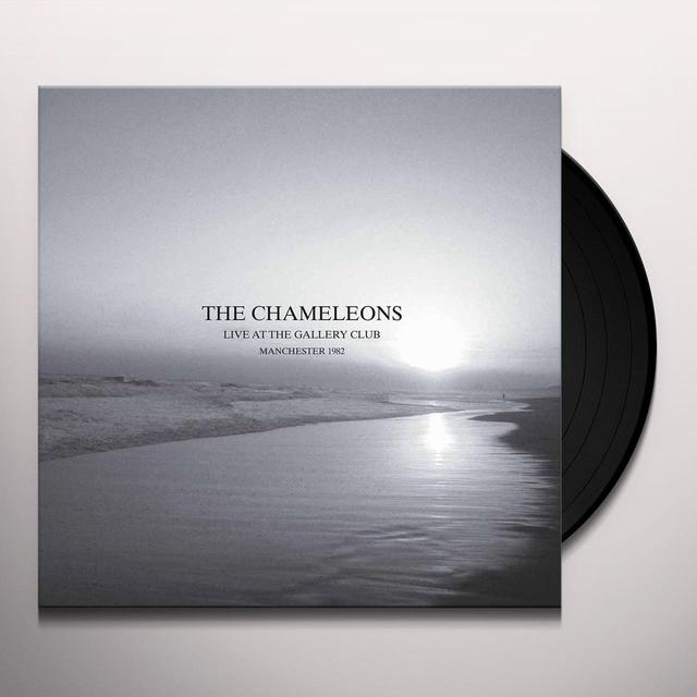 The Chameleons LIVE AT THE GALLERY CLUB Vinyl Record - Gatefold Sleeve