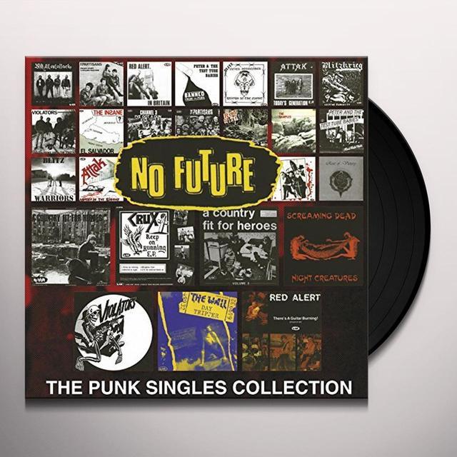 NO FUTURE SINGLES / VARIOUS (GATE) NO FUTURE SINGLES / VARIOUS Vinyl Record - Gatefold Sleeve