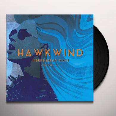 Hawkwind INDEPENDENT DAYS V1 & V2 Vinyl Record - Gatefold Sleeve