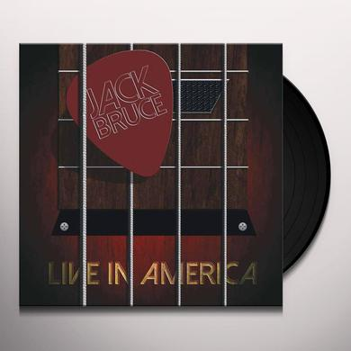 Jack Bruce LIVE IN AMERICA Vinyl Record