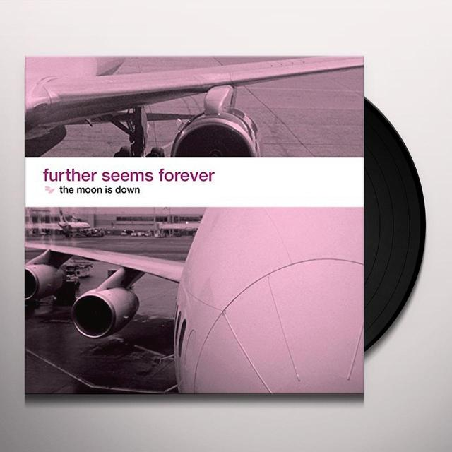 Further Seems Forever MOON IS DOWN Vinyl Record