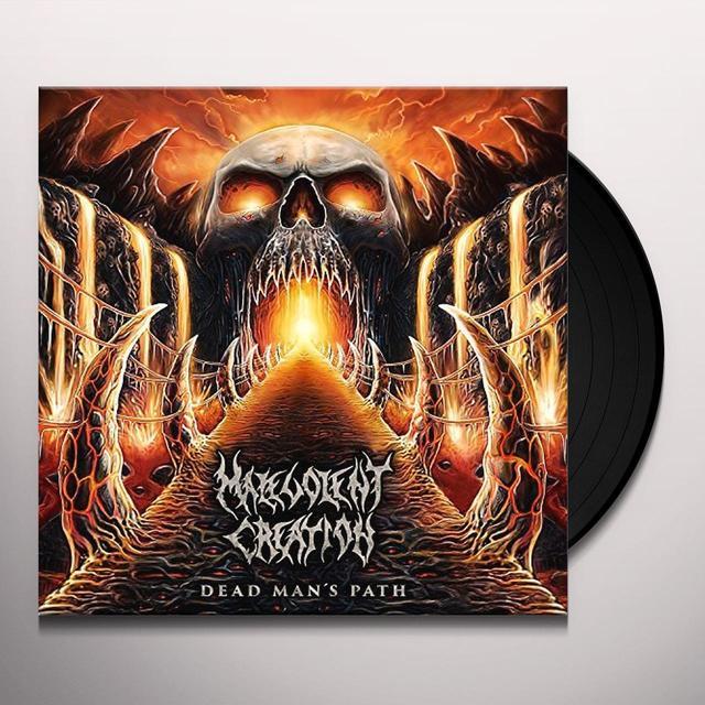 Malevolent Creation DEAD MAN'S PATH Vinyl Record