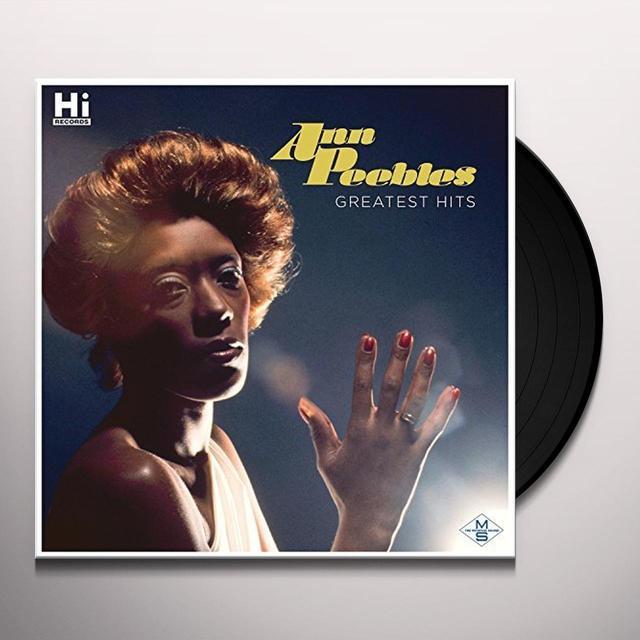 Ann Peebles GREATEST HITS Vinyl Record