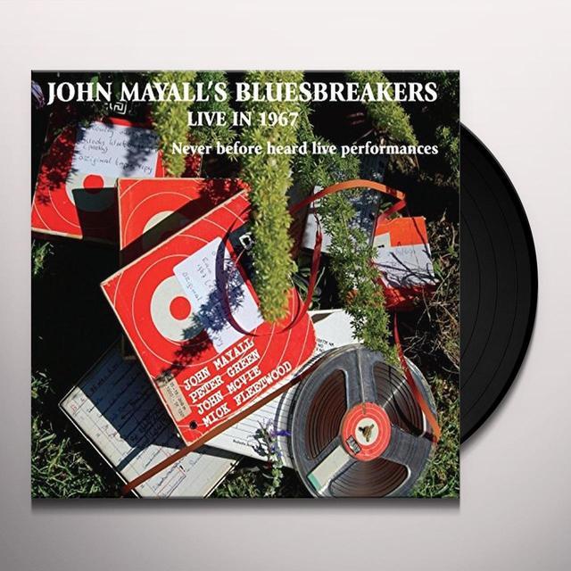 John Mayall's Bluesbreakers LIVE IN '67 Vinyl Record - Gatefold Sleeve