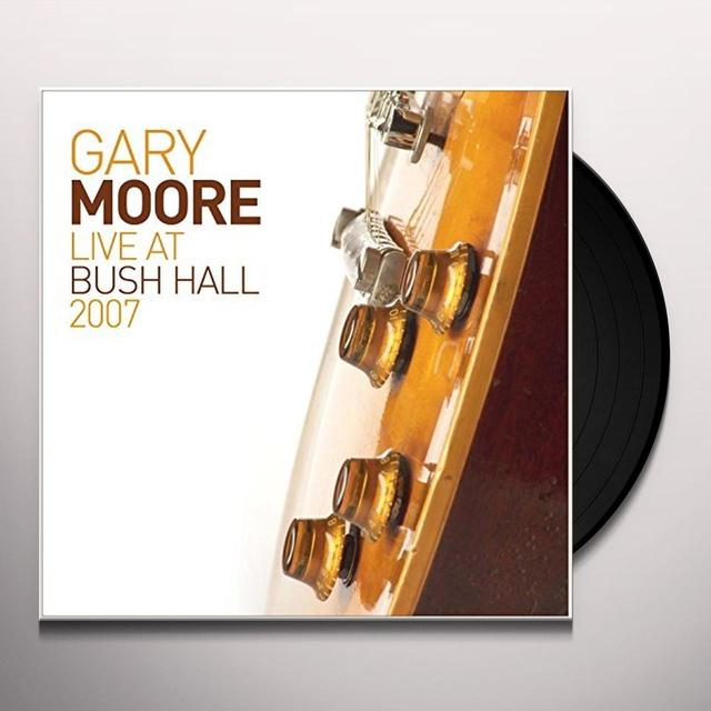 Moore, Gary LIVE AT BUSH HALL Vinyl Record - Gatefold Sleeve