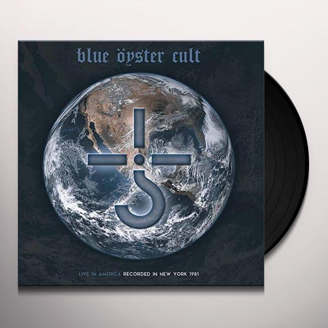 Blue Oyster Cult LIVE IN AMERICA Vinyl Record - Gatefold Sleeve